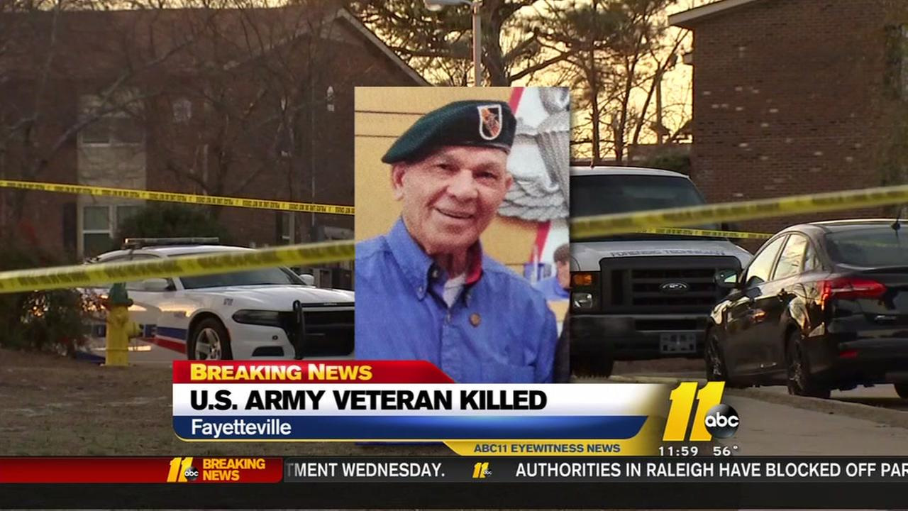US Army veteran killed in Fayetteville