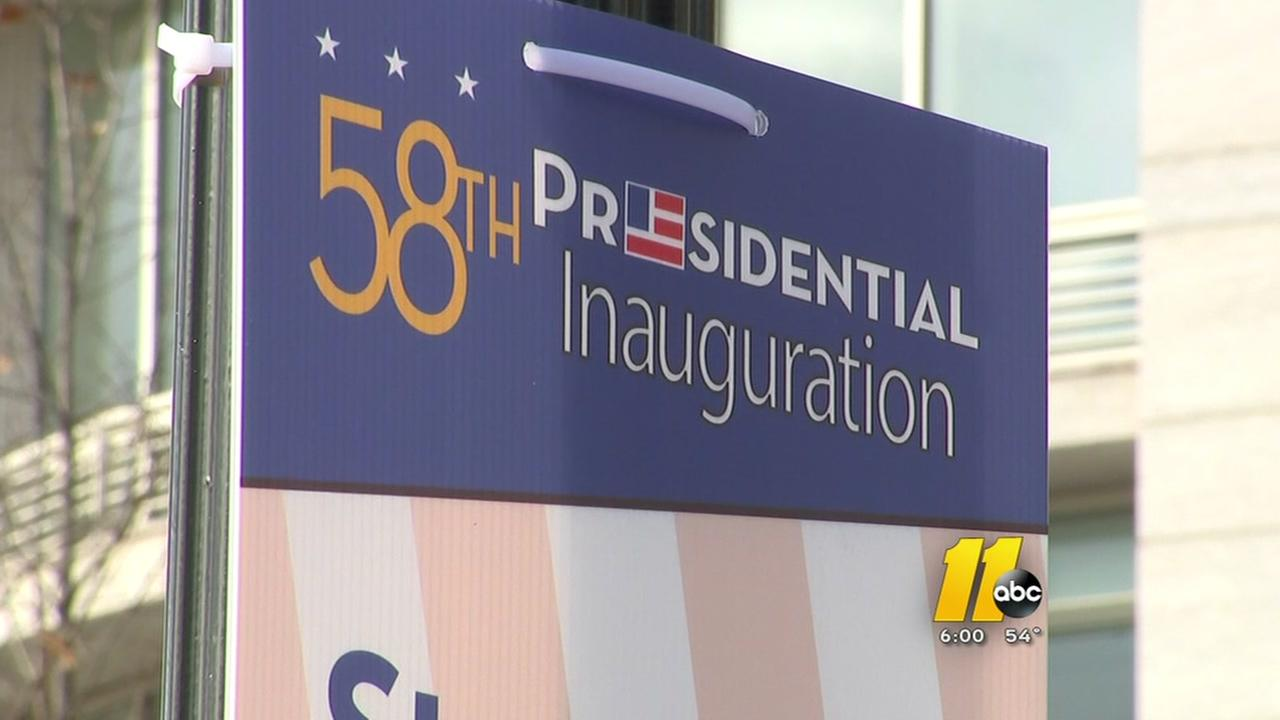 Steve Daniels reports from Washington on inauguration prep