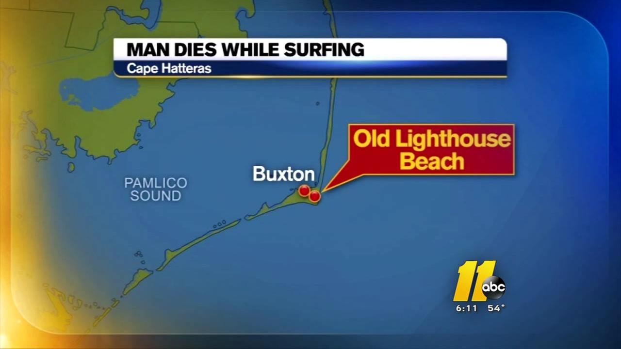 Surfer dies on Outer Banks