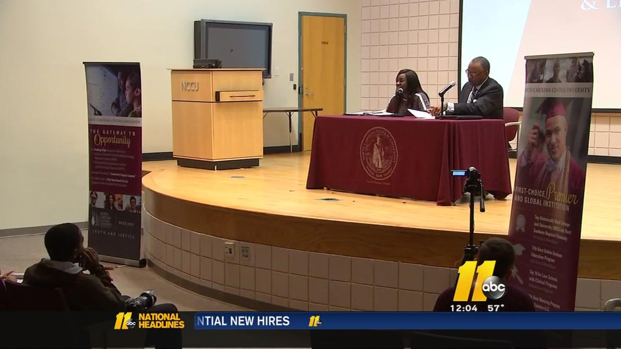 NCCU searches for new chancellor