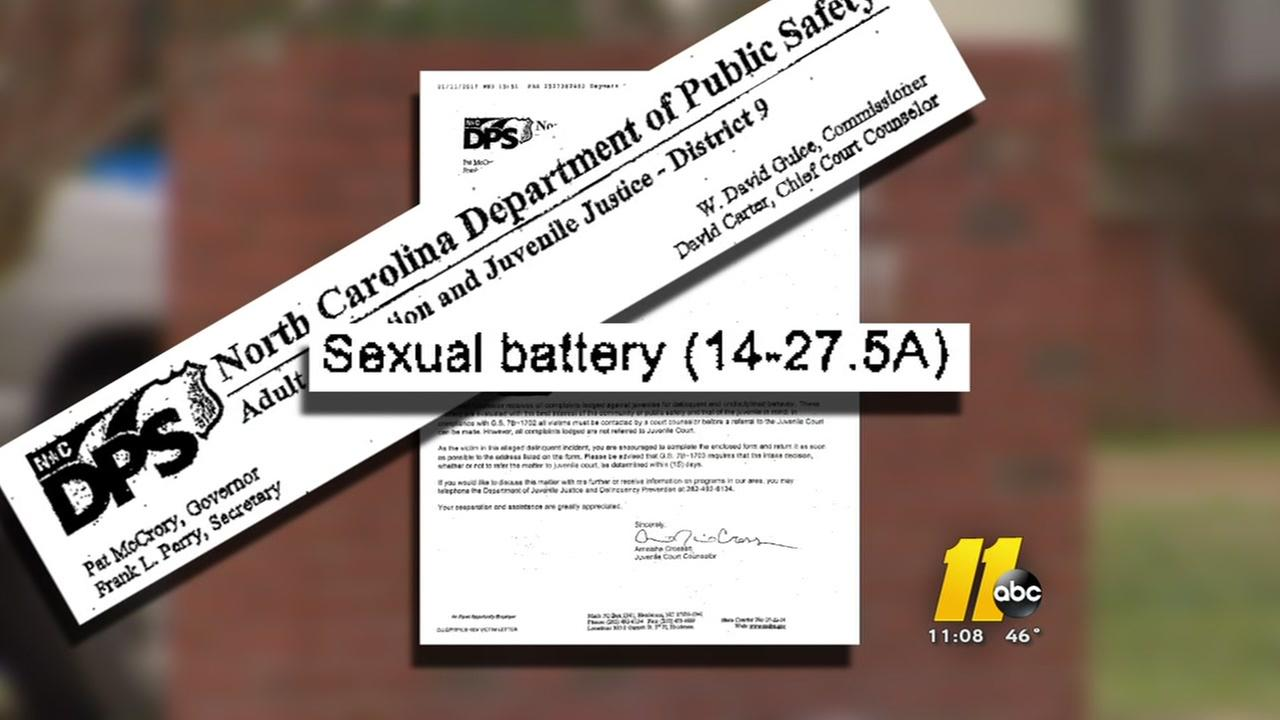 Sexual misconduct in a Vance County elementary school