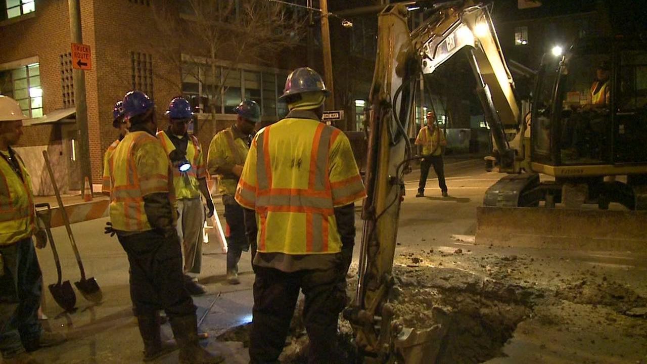 Sewer main collapse closes Durham streets
