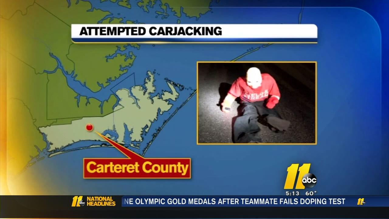 Woman: Suspects use child-like dummy in attempted carjacking