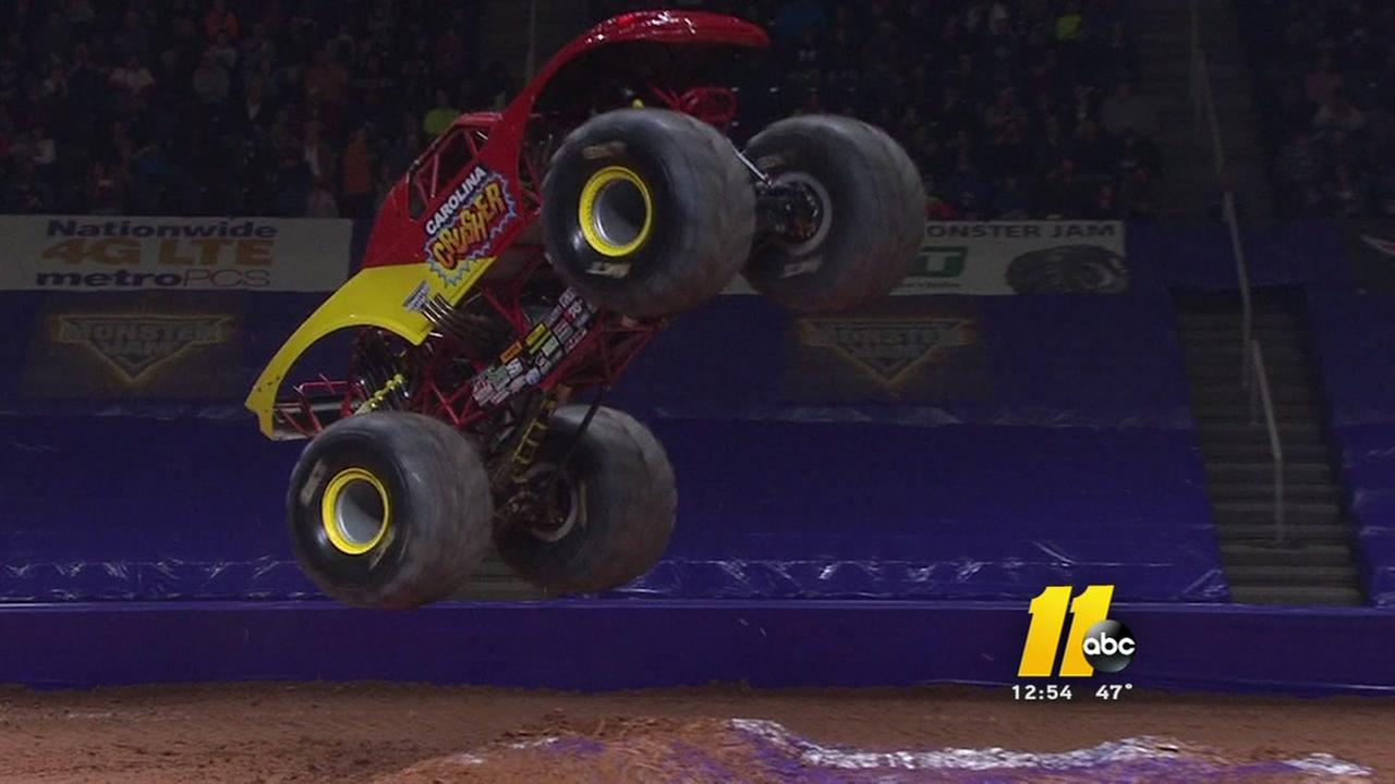 Monster Jam comes to PNC Arena