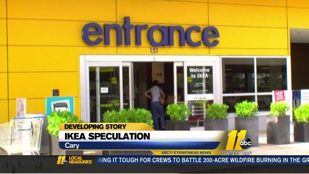 IKEA speculation grows in Cary