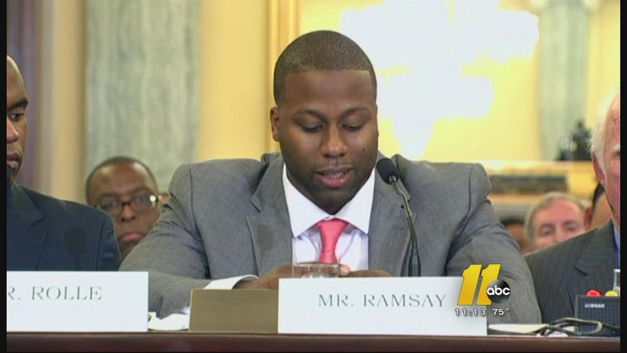Former UNC athlete blasts NCAA during U.S. Senate hearing