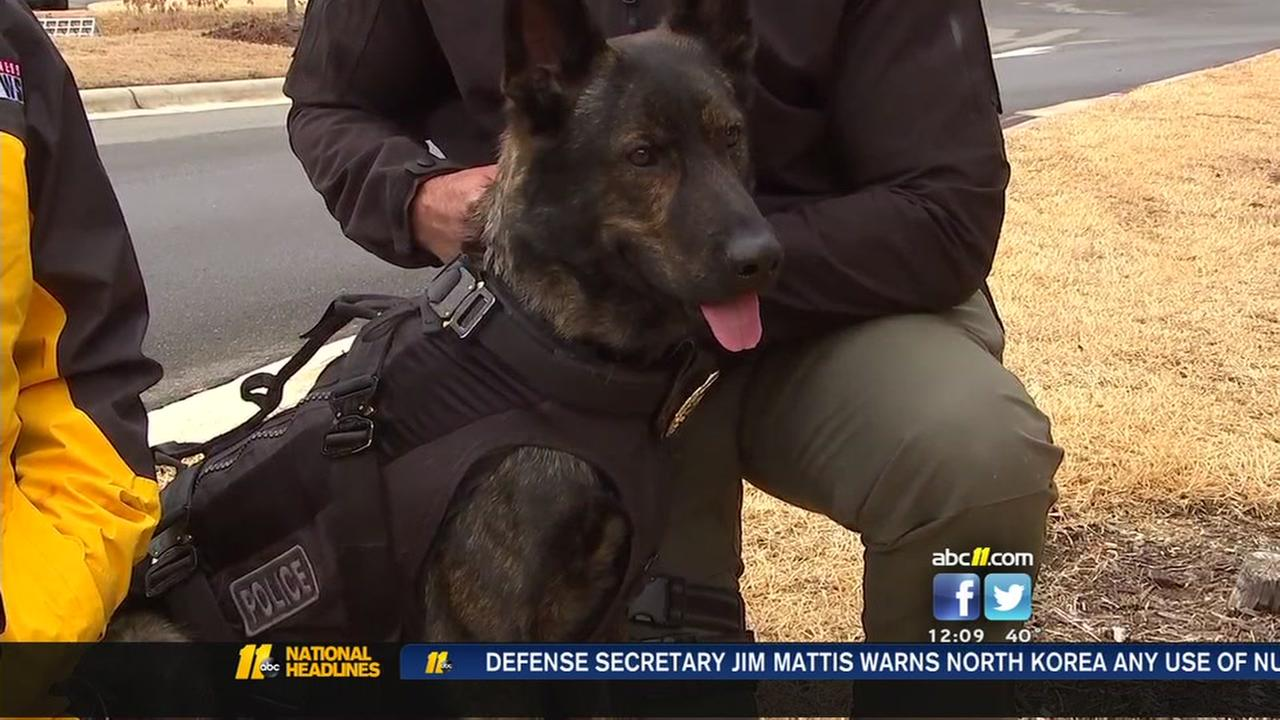 K-9 safer thanks to generous donation
