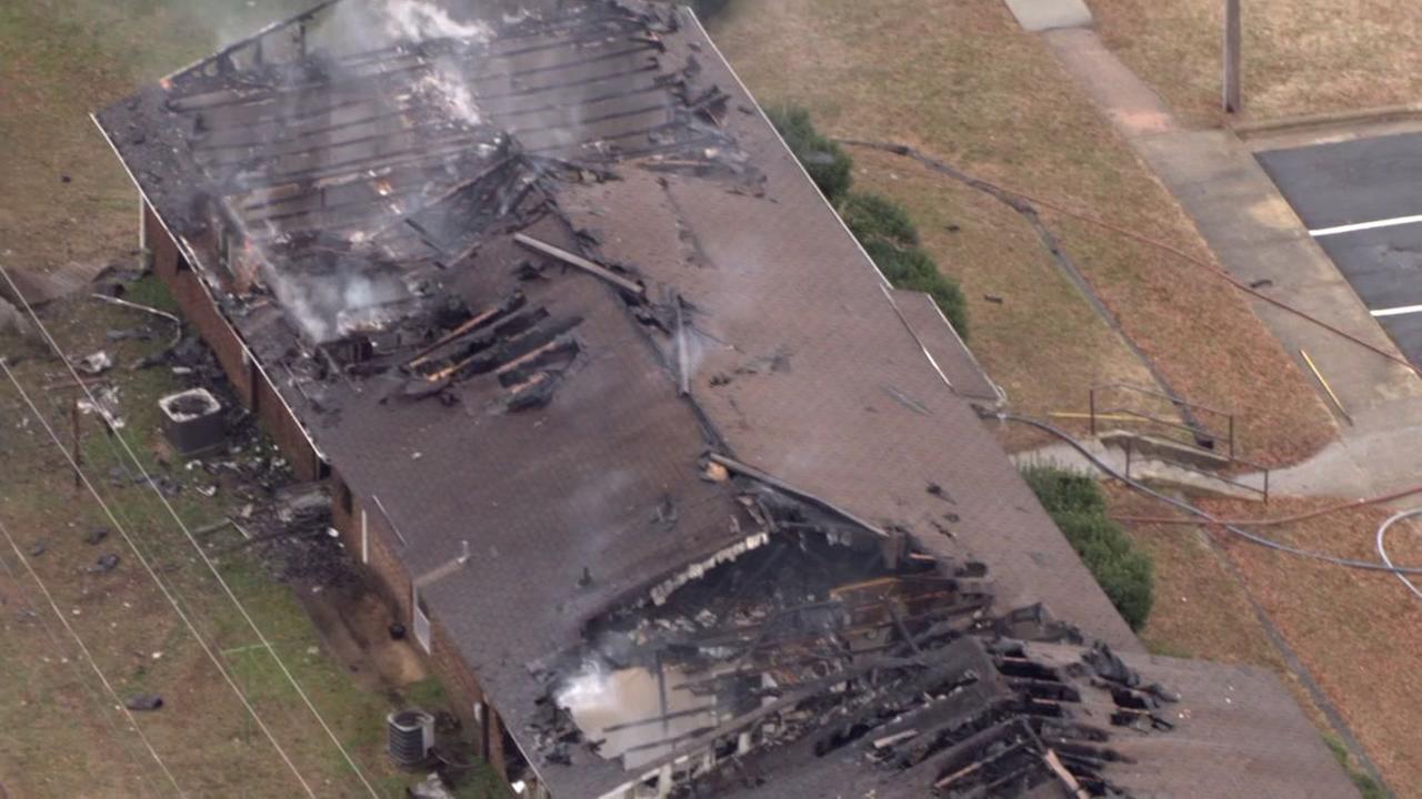 Fire in Roxboro