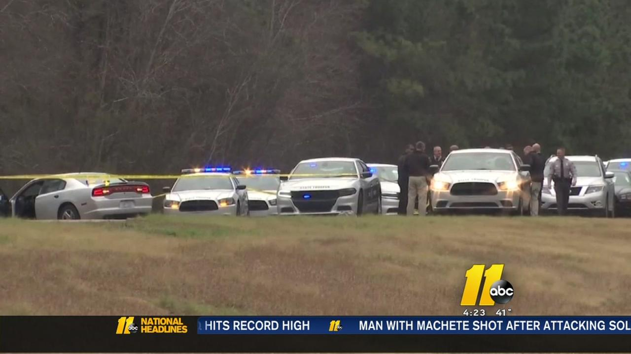 Murder suspect killed in shootout with troopers