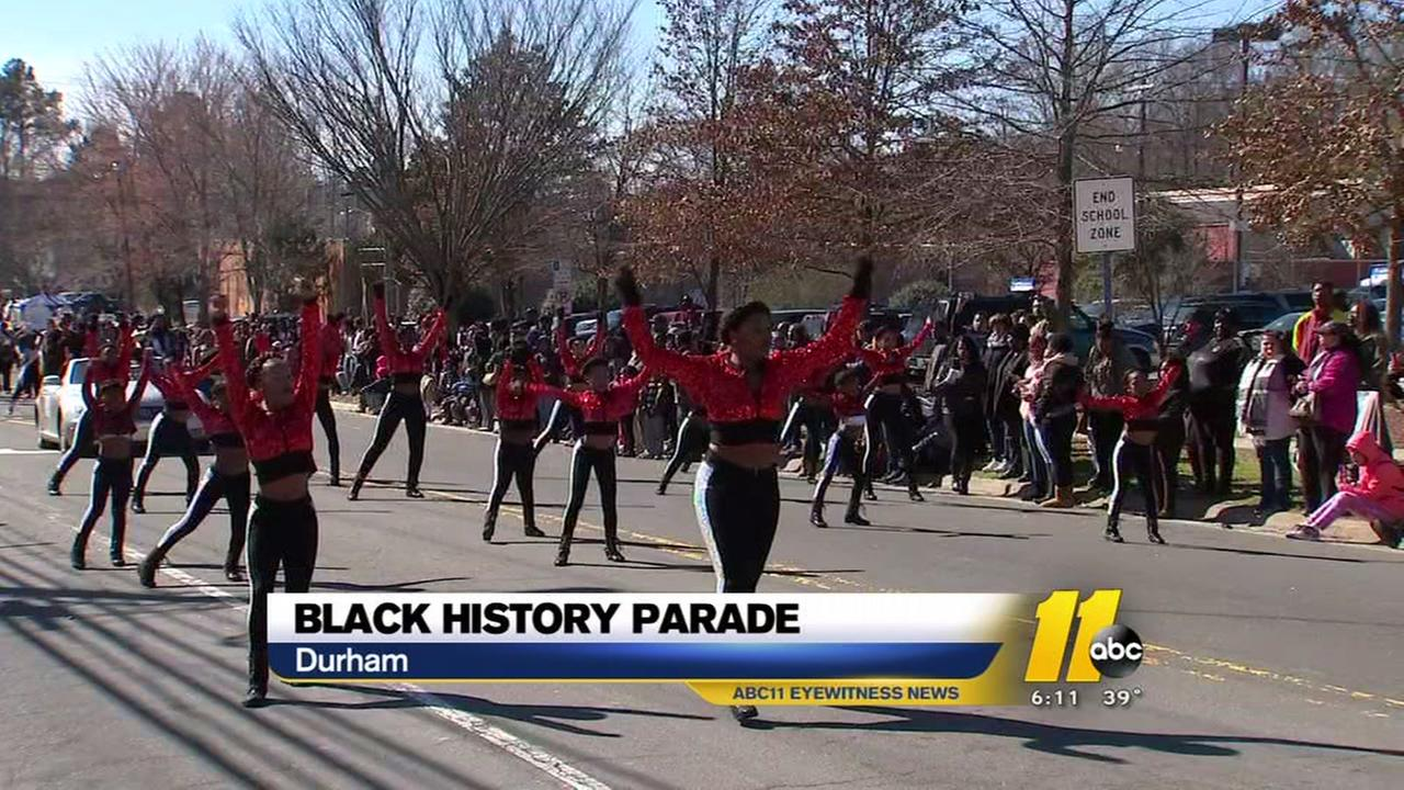 Durham holds Black History Month parade