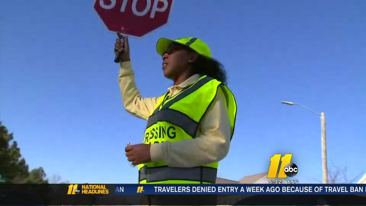 Crossing guard reassigned after speeding complaint
