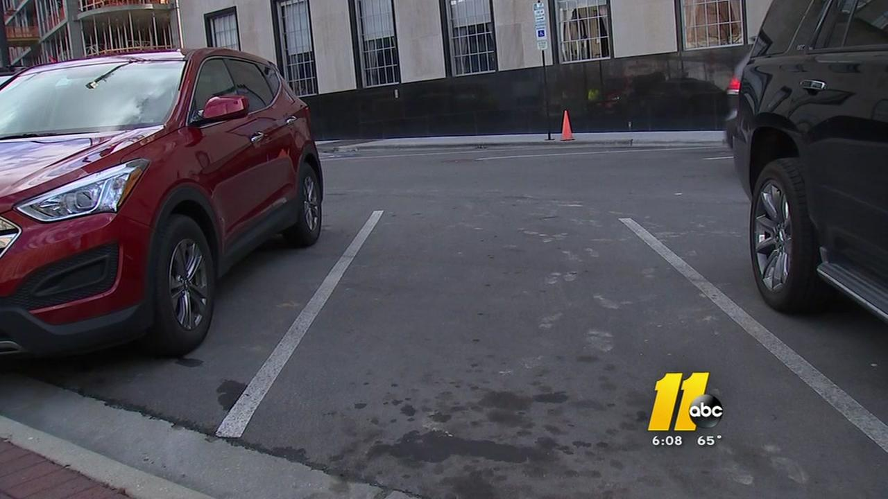 Parking meters installed in Durham