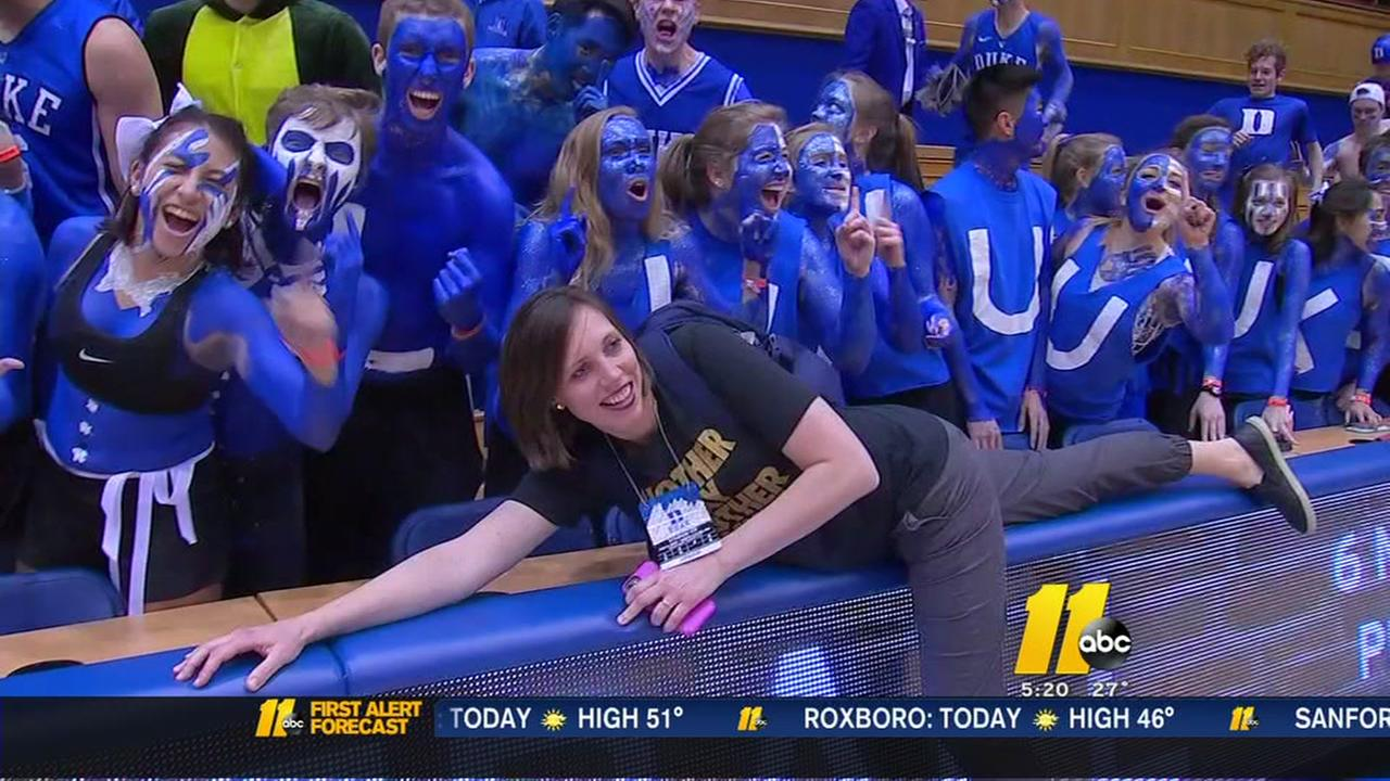 Wish granted! Cancer patient attends Duke v. UNC game