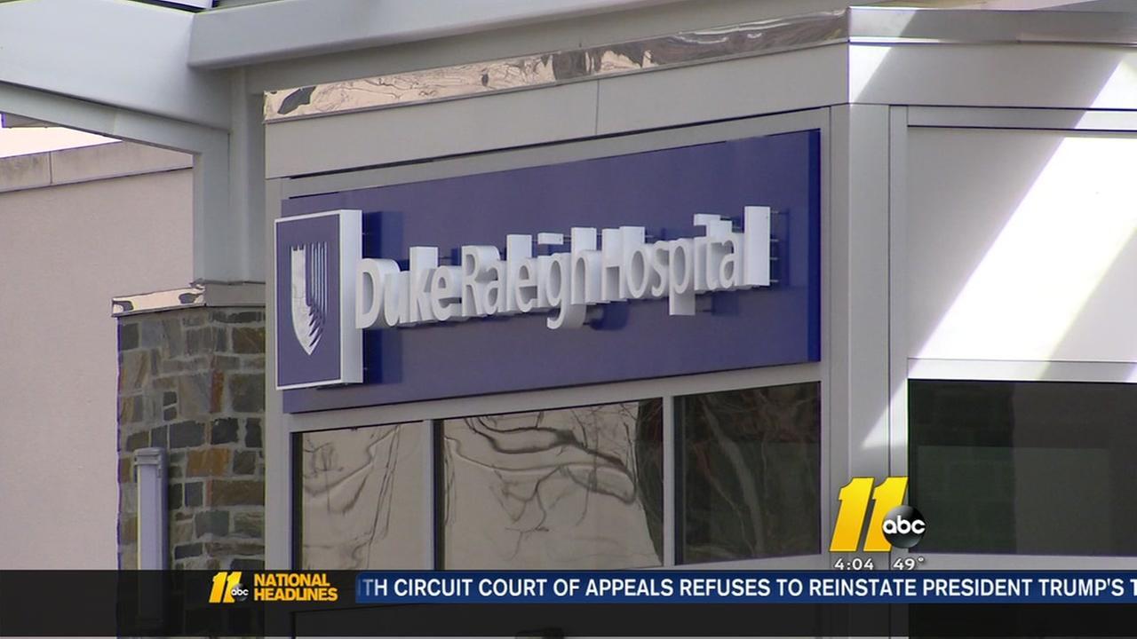 Duke Hospital visitation restrictions after flu outbreak