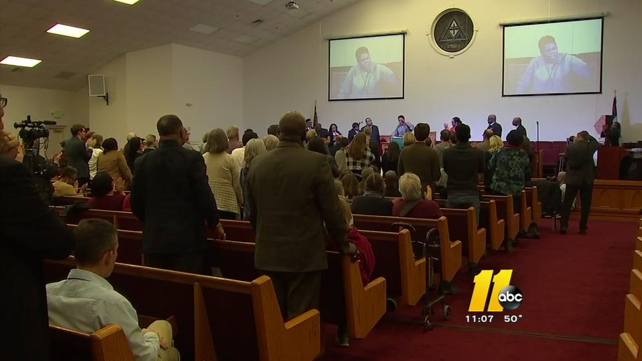 Service held on eve of Moral March