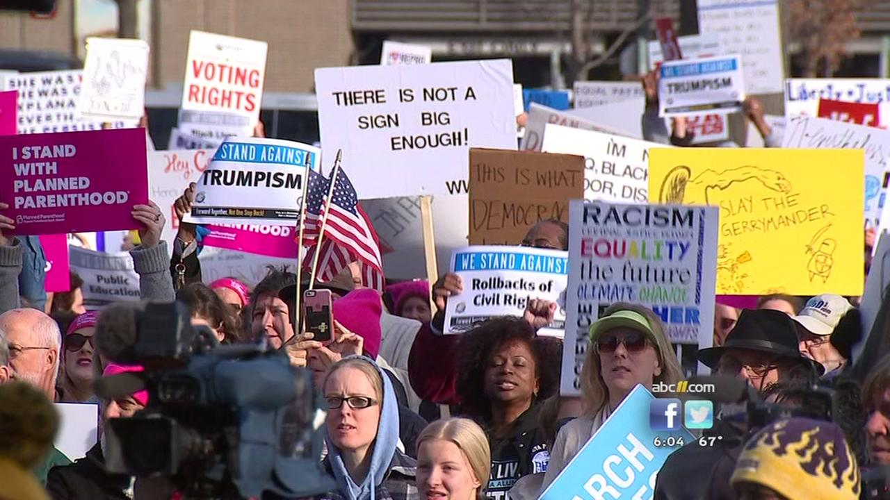 Thousands join Moral March in Raleigh