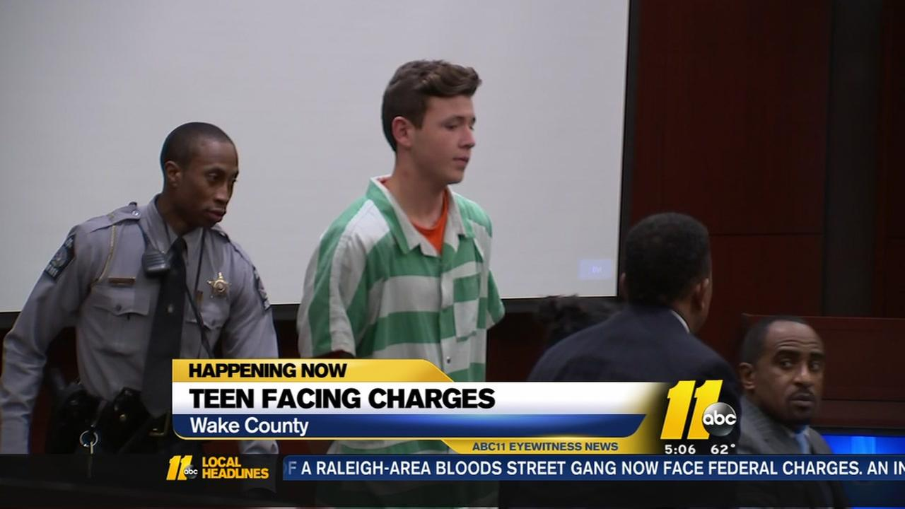 Cary teen facing sex offense charges