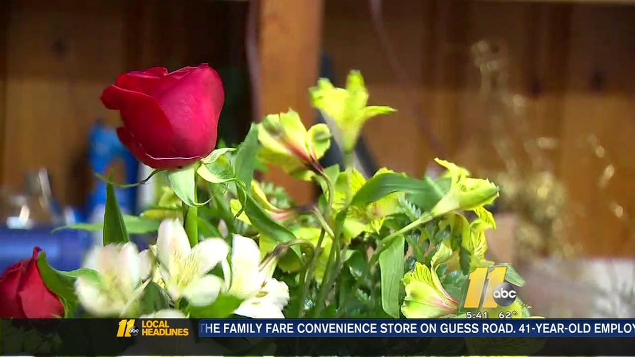 Special roses for military spouses