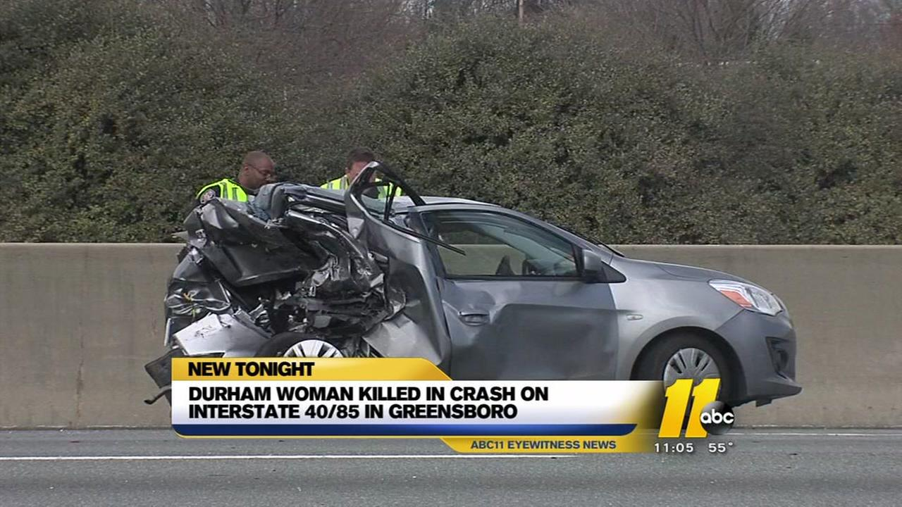 Durham woman killed in Greensboro crash