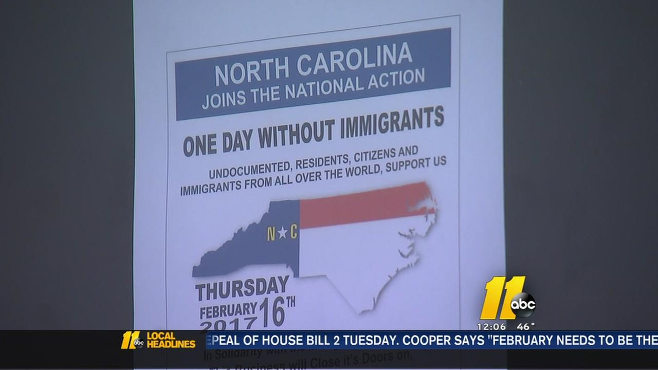 NC to join national One Day Without Immigrants