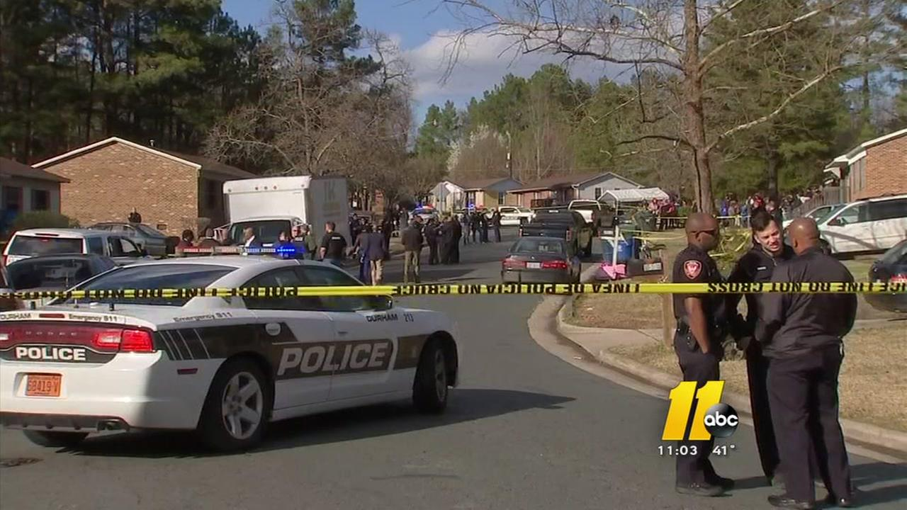 Emotional day in Durham as man is shot by officers