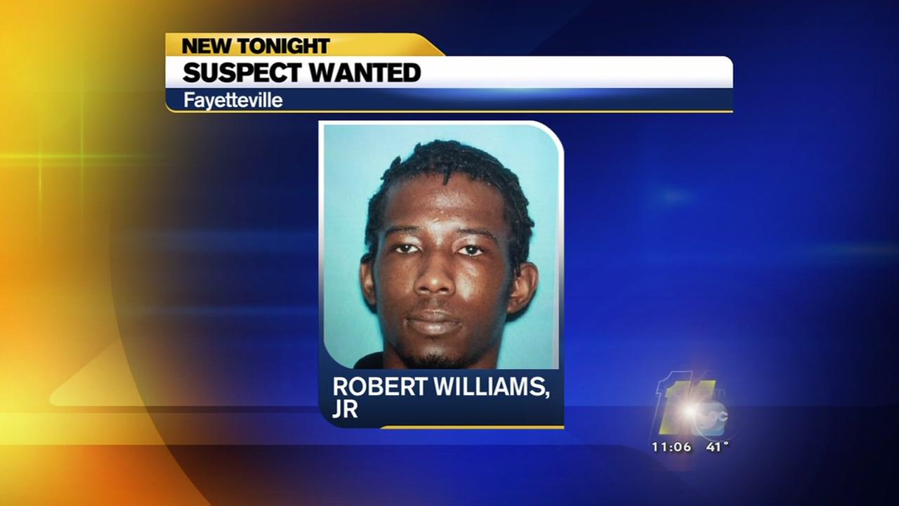 Second suspect wanted in Fayetteville case