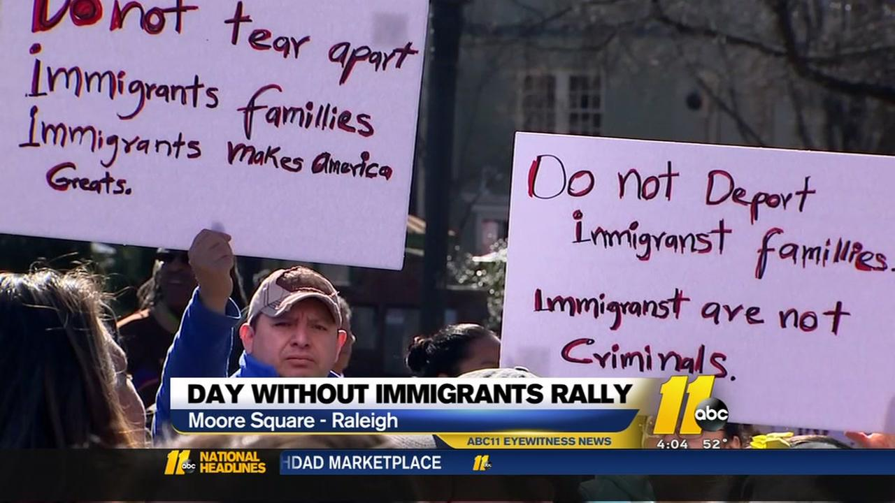 Day without Immigrant protests