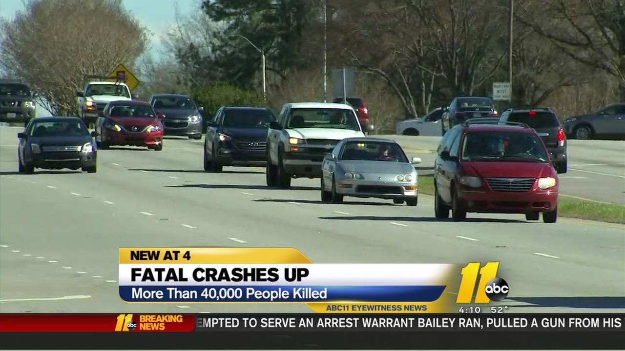 Fatal crashes up in NC