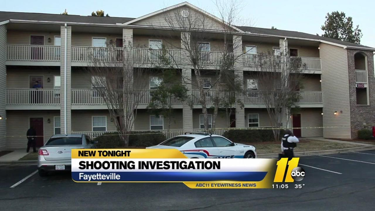 Shooting investigation at Fayetteville apartment