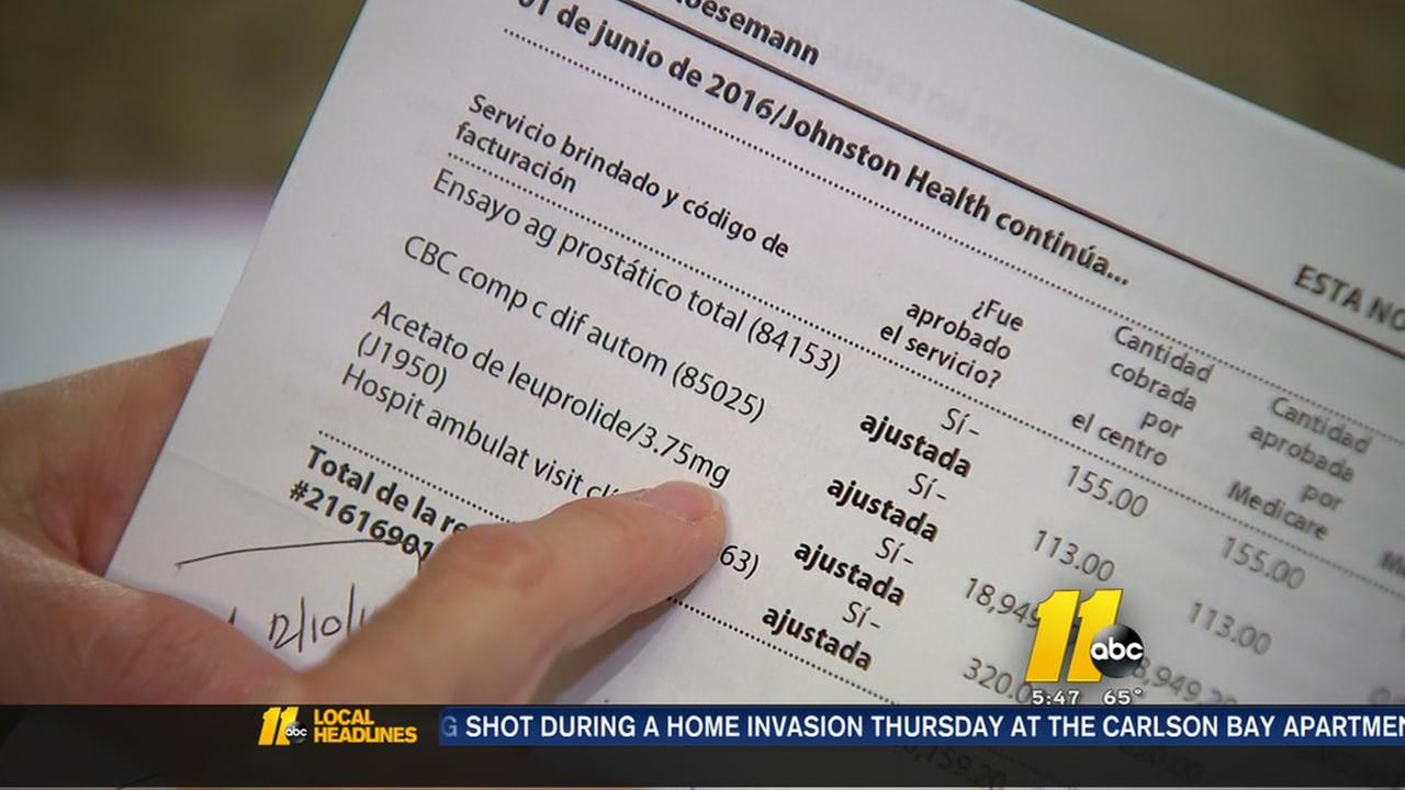 Medical bill mistake doubles cost for mans treatment
