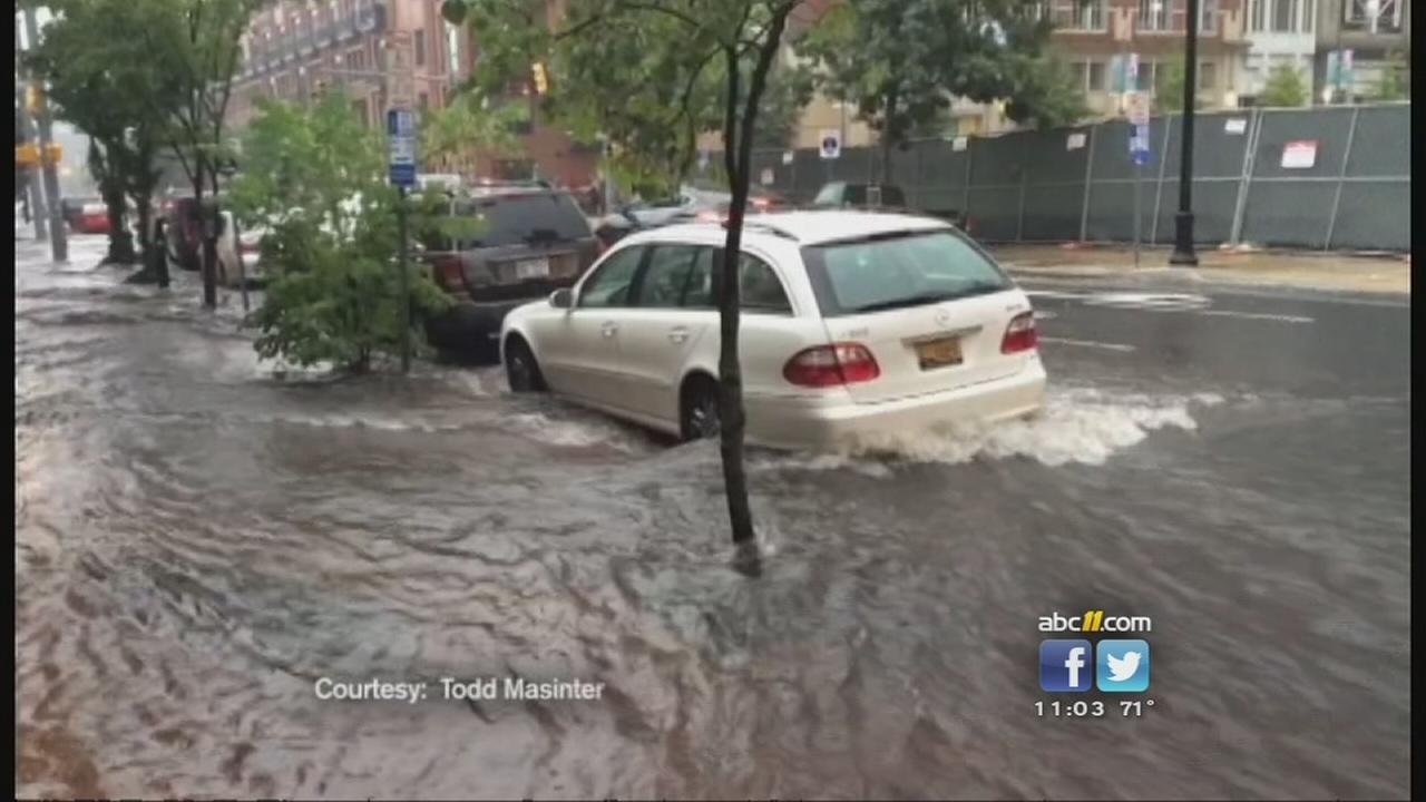 Severe storms create flood problems across the Triangle