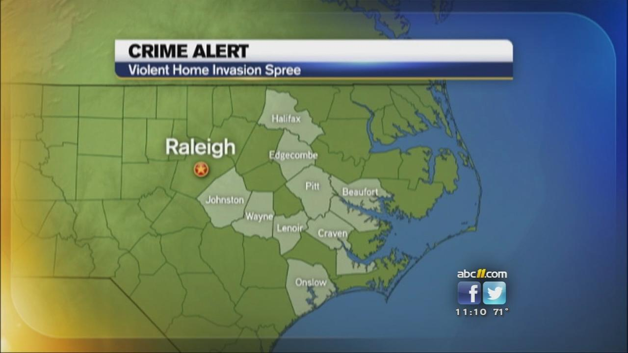 Safety alert for several counties in eastern NC