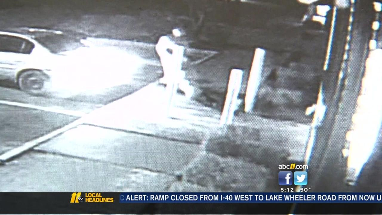 Burglar knocked out during break-in