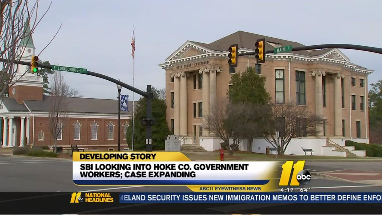 Hoke County investigation expands