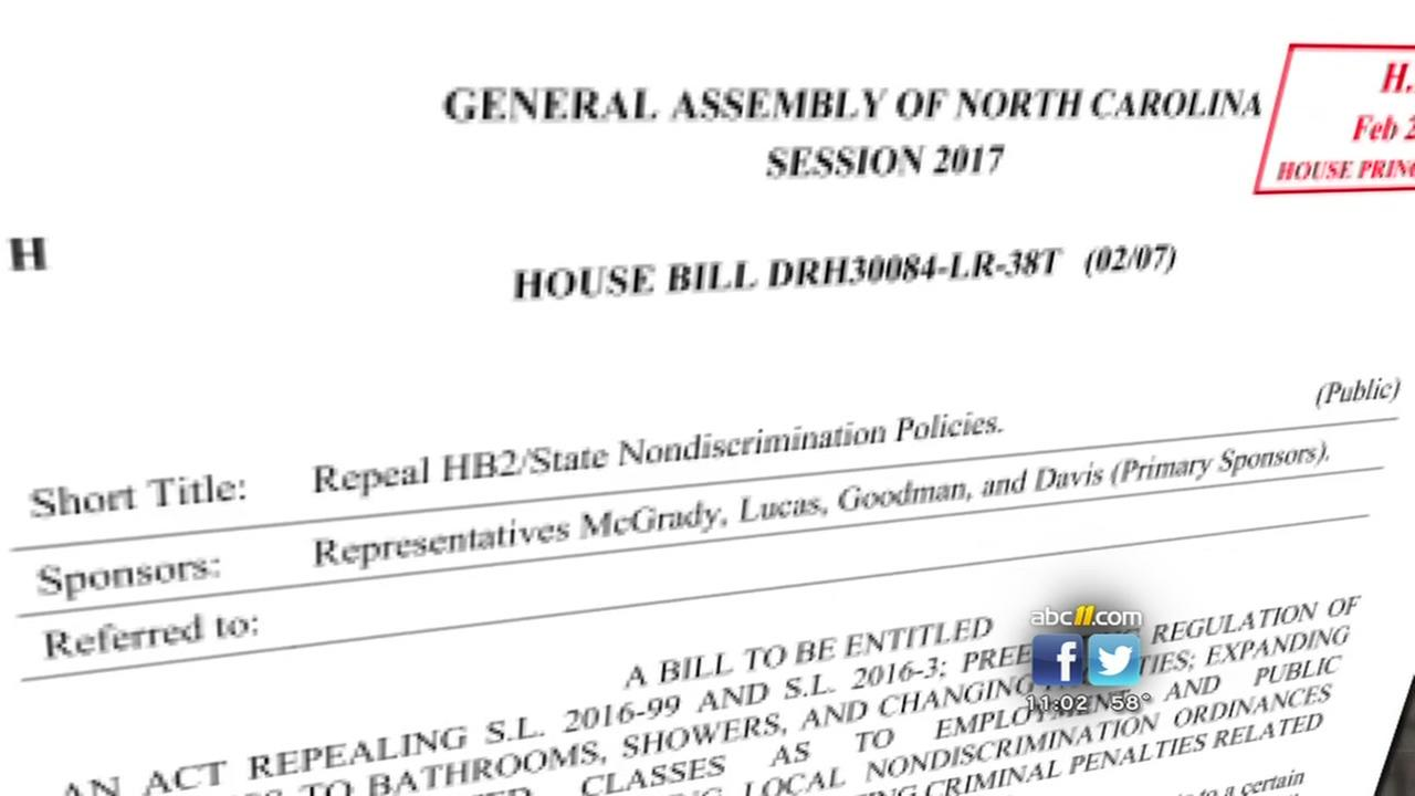 Bill filed to repeal HB2