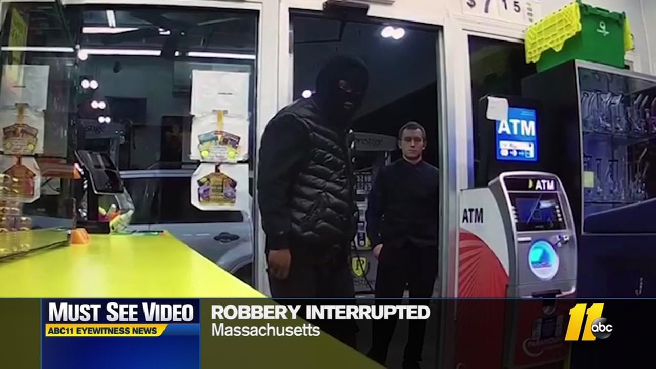 Massachusetts robbery interrupted