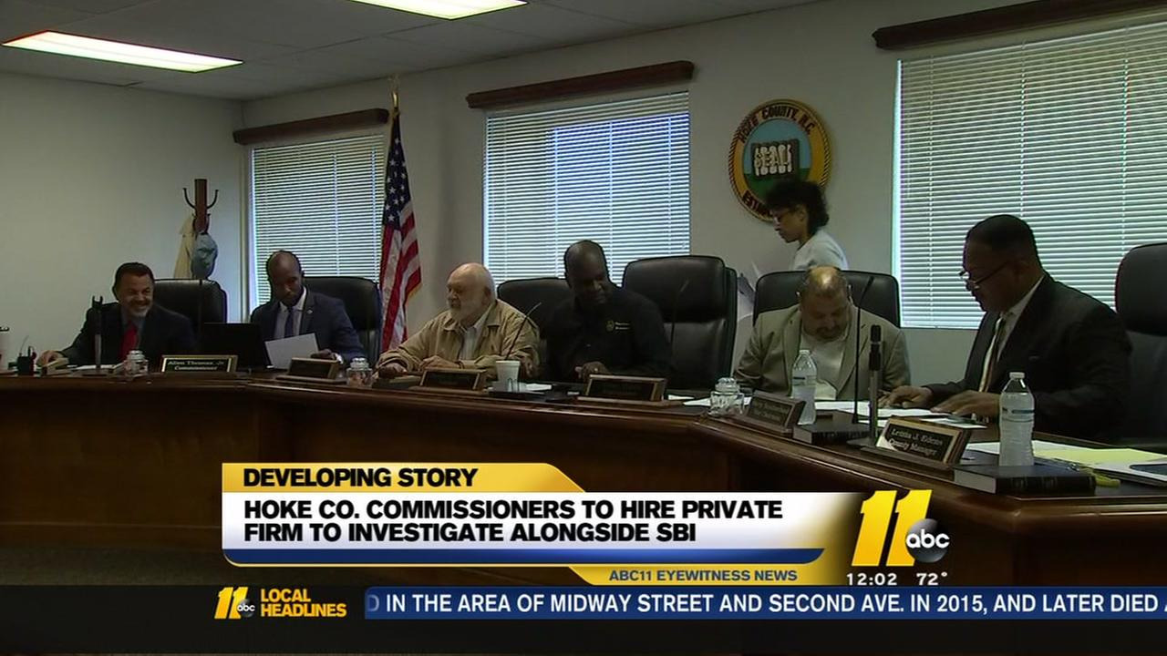 Hoke commissioners to hire investigator