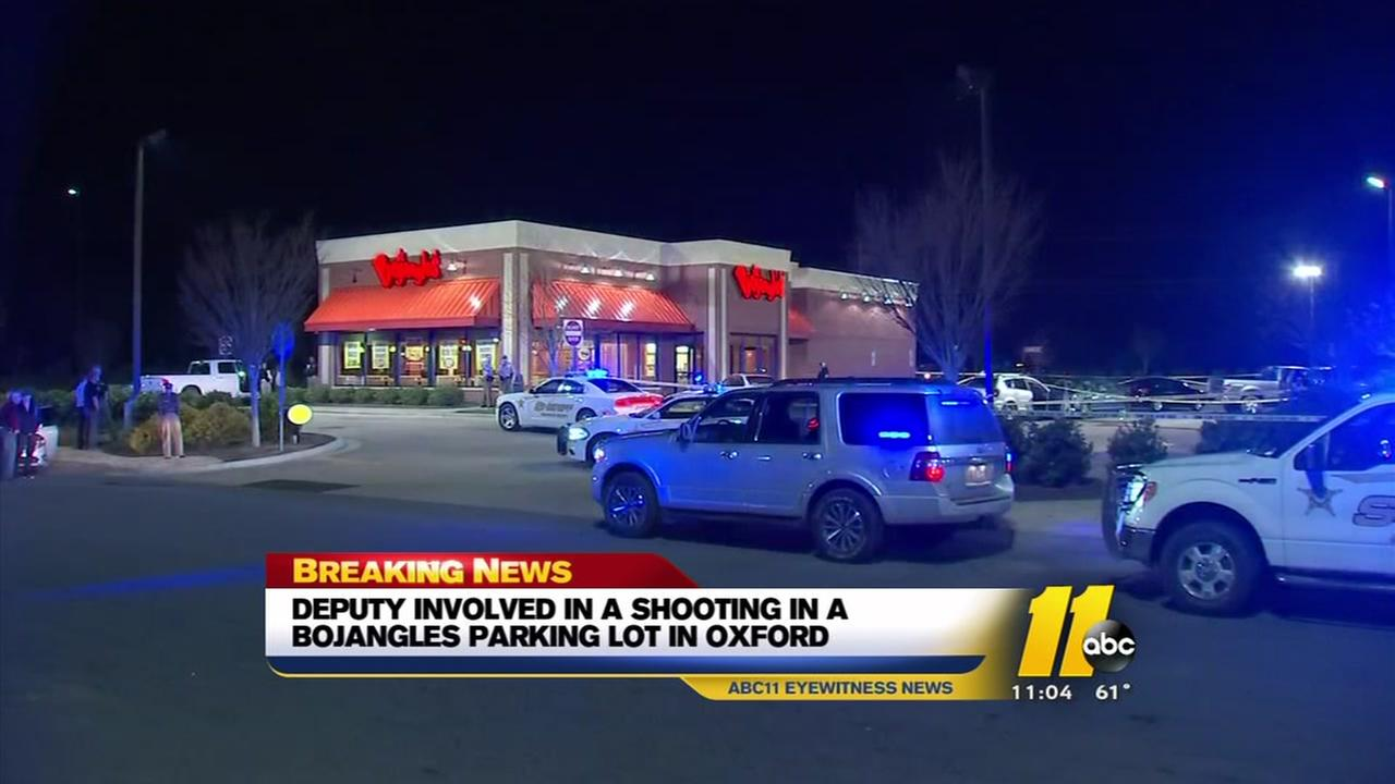 Wild scene at Oxford Bojangles involved crashes, shots fired