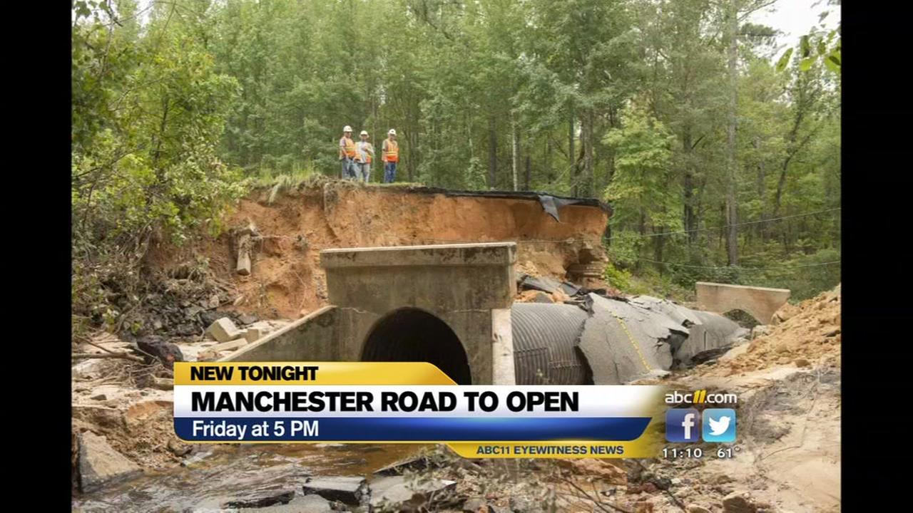 Manchester Road to reopen