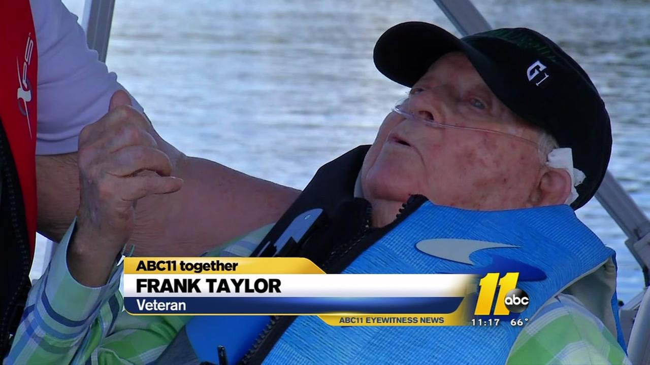 Dying veteran gets his final wish