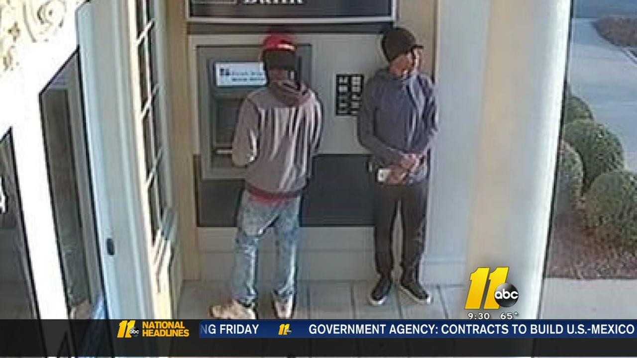 Suspects wanted in attempted robbery