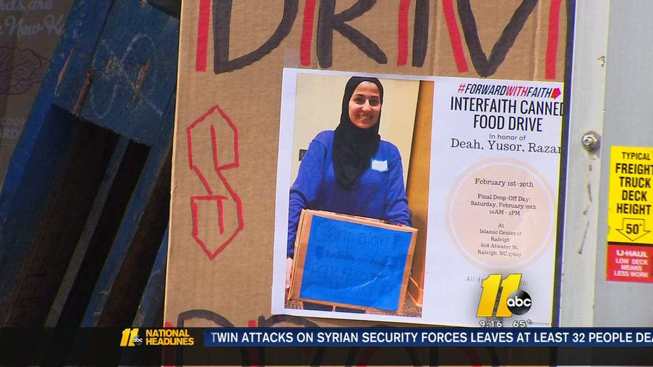 Interfaith Food Drive in Raleigh