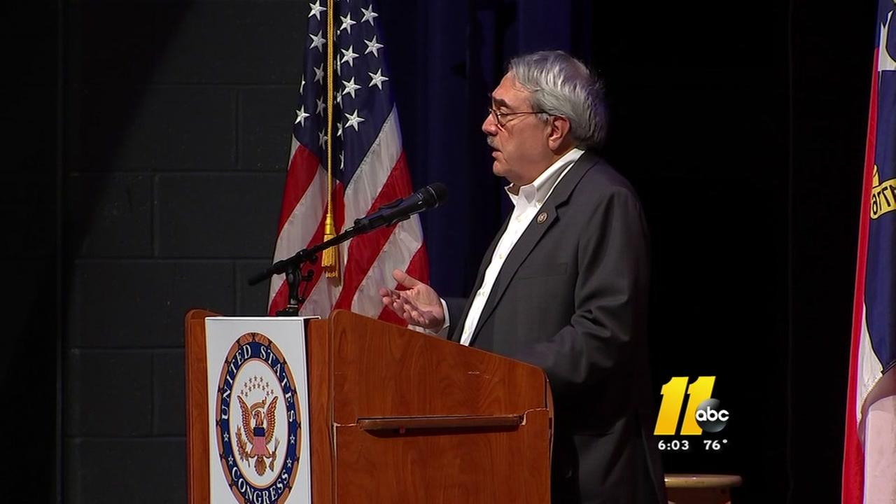Congressman Butterfield hosts town hall in Durham