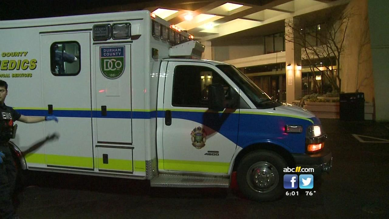 Woman shot inside Durham hotel