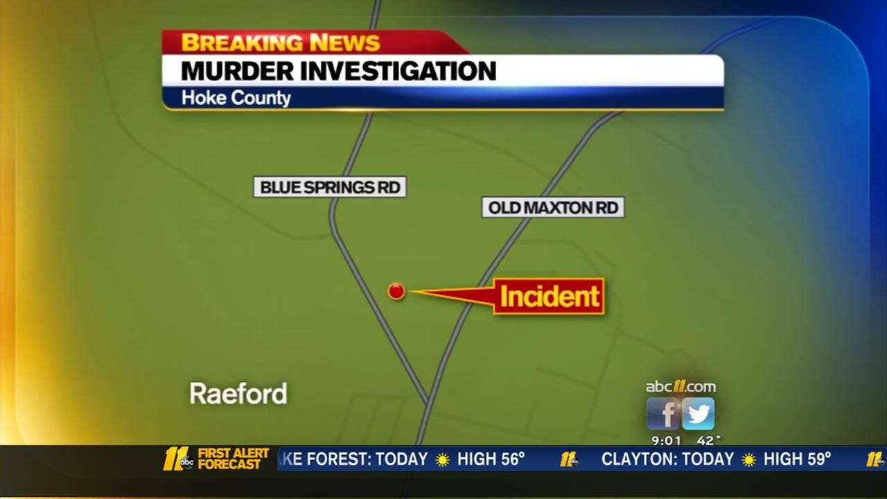 Murder investigation in Hoke County