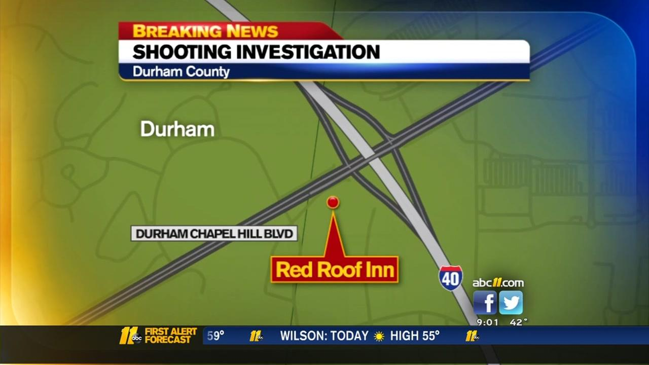 Shooting investigation at Durham County hotel