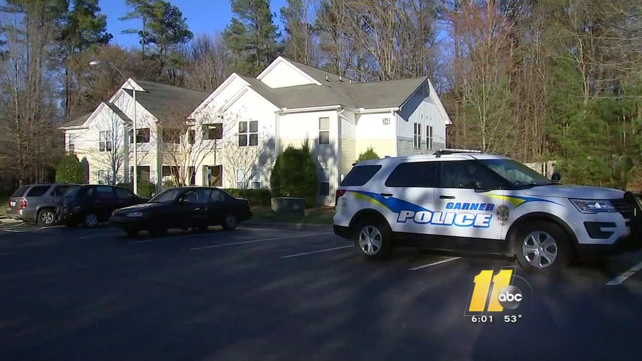 Teen shot inside Garner apartment