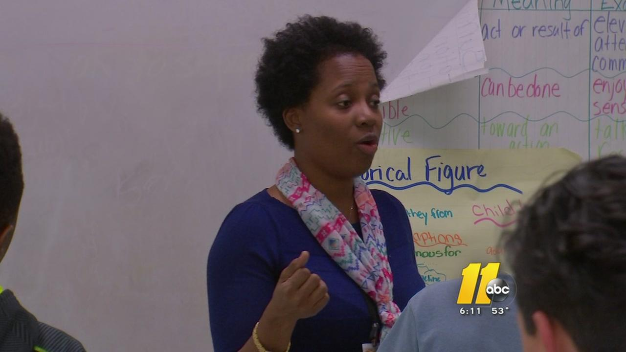 Durham teacher inspires with personal story