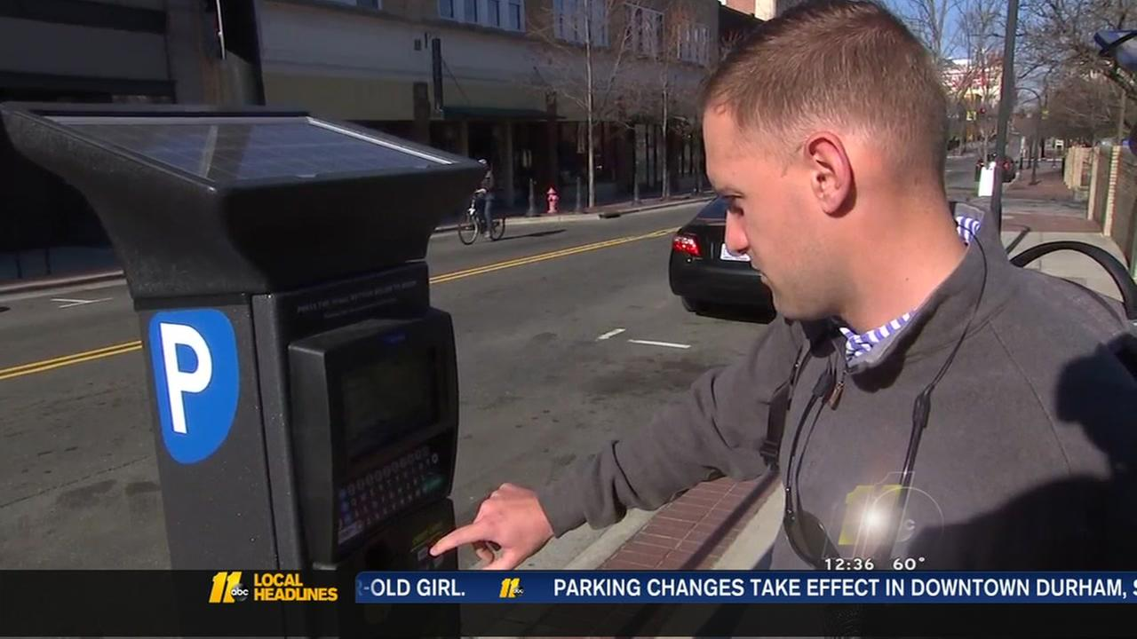 Parking in downtown Durham will now cost you