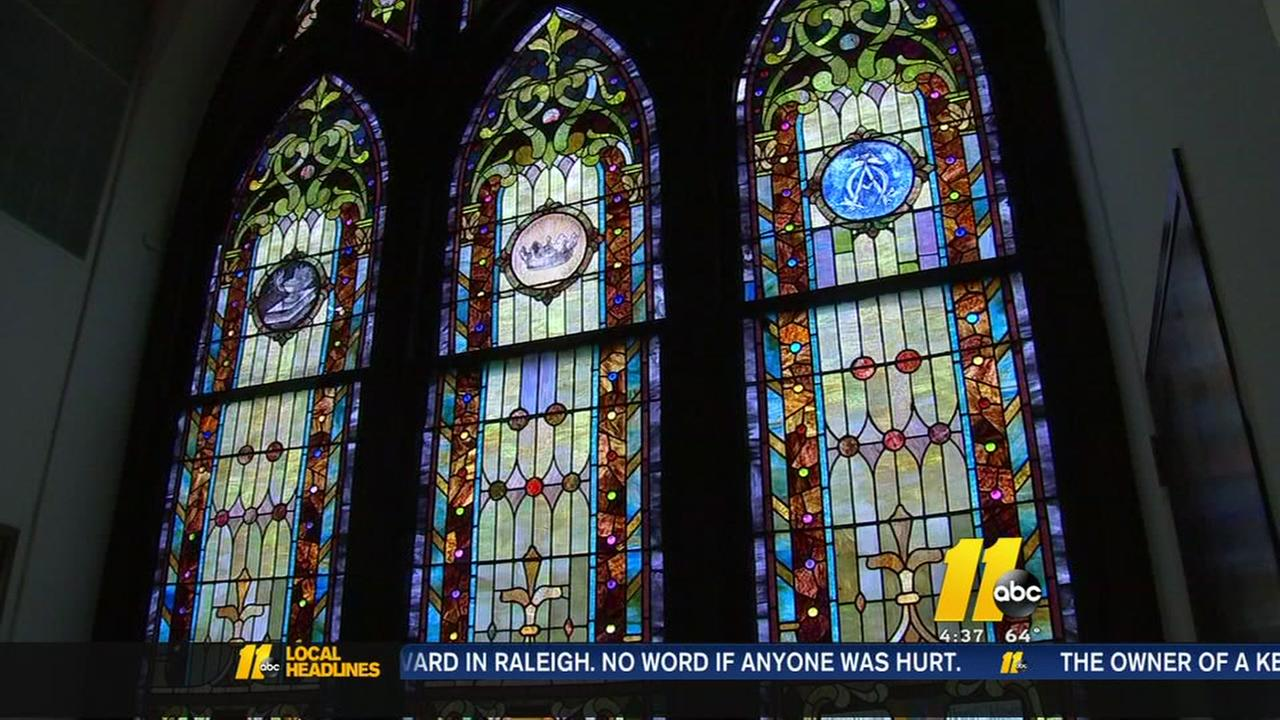 Historic Raleigh church windows need restoration